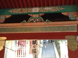 平成25年11月18日FJP日光視察旅行東照宮眠り猫